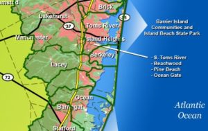 barnegat bay watershed map