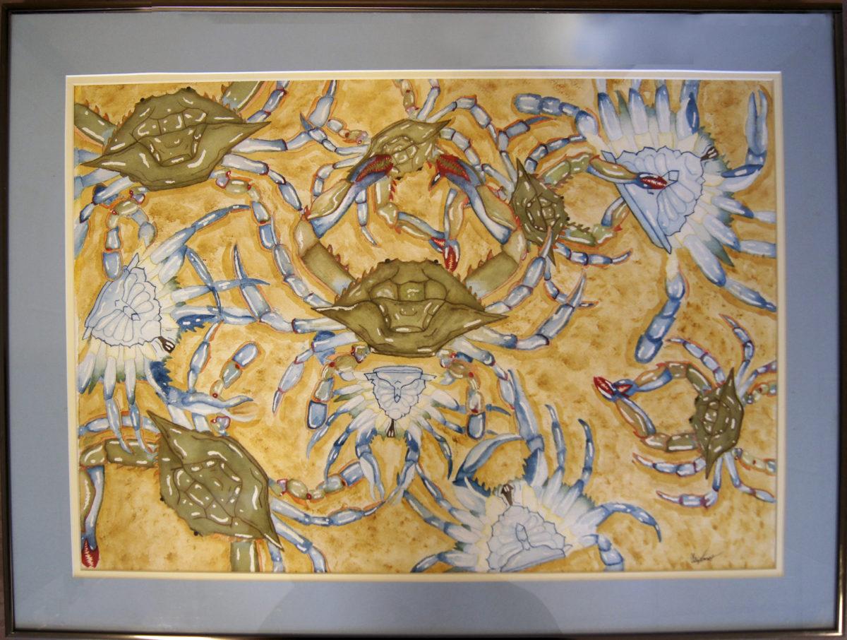 Watercolor: Got Crabs
