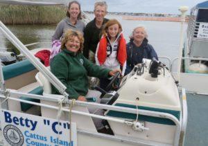 OCP boat passengers