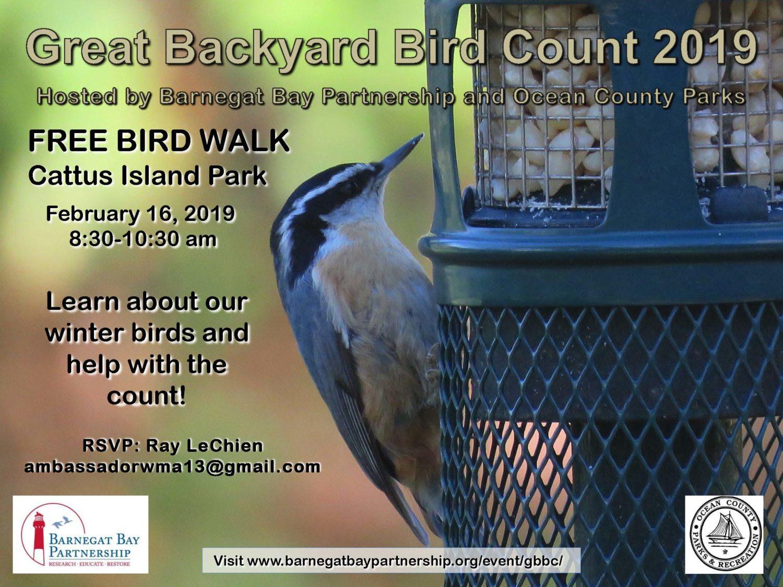 Great Backyard Bird Count - Barnegat Bay Partnership