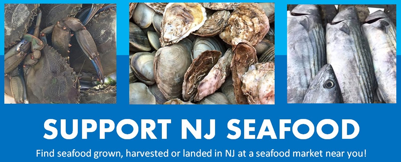 Support NJ Seafood banner