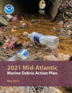 Cover of 2021 Mid-Atlantic Marine Debris Action Plan